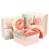 """Набор коробок """"Цветущая роза"""" 0661JA"""