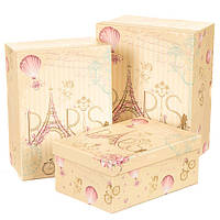 """Набор коробок """"Париж"""" 0663JA"""