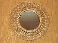 Зеркало в раме из плетеной лозы №2