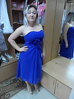 Шифоновое вечернее платье