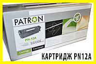 !РАСПРОДАЖА Картридж HP LJ Q2612A/CANON 703 (PN-12A/703GL) PATRON, фото 1