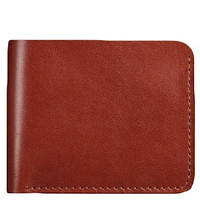 Мужское портмоне ручной работы из натуральной кожи BlankNote 4.1 Коньяк
