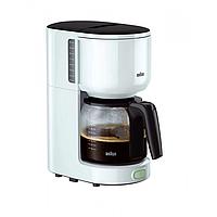 Кофеварка BRAUN KF 3100 WH (F00146657)