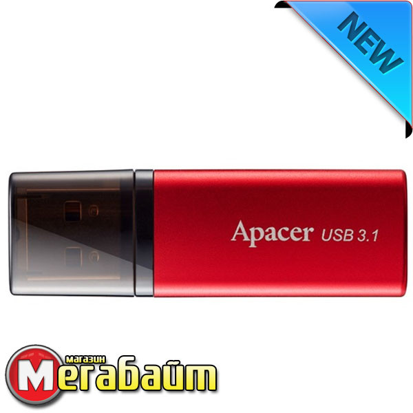 USB flash Apacer AH25B 16GB (AP16GAH25BR-1) Red
