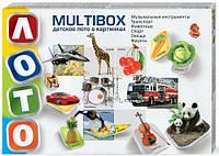 """Детское лото в картинках """"Multibox"""" Danko toys"""
