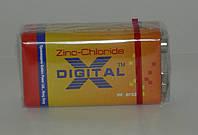 Батарейка X-DIGITAL 9V 6F22 КРОНА