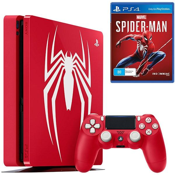 Игровая приставка Sony PlayStation 4 Pro 1TB Limited Edition Marvel s  Spider-Man 3f0b4c39b4471