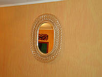 Зеркала в раме из лозы
