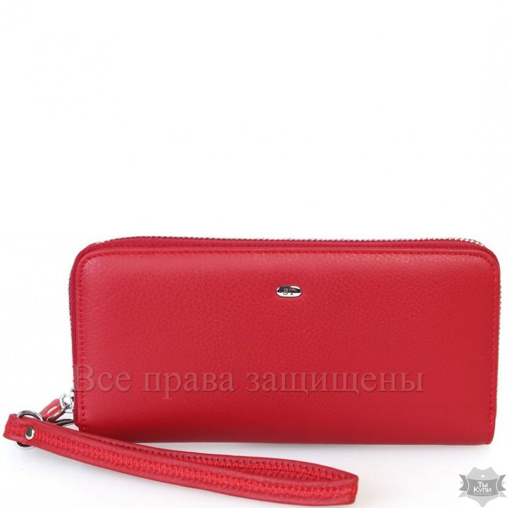 6d6c5b893b4b Элегантный женский красный кошелек из натуральной кожи Sergio Torretti st38  RED - Arion-store -
