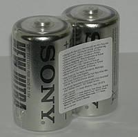 Батарейки R-20 Sony 2x коробка