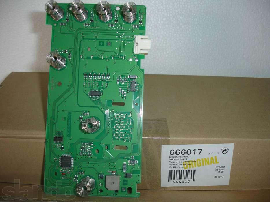 Модуль управления стиральной машины BOSCH/SIEMENS 666017