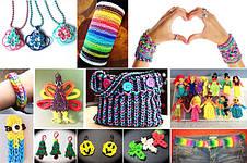 Набор Loom Bands 2200 для плетения браслетов из резинок, фото 3