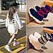 Кросівки в'язані дитячі для дівчаток високі, фото 2