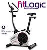Домашній велотренажер FitLogic B1501,Механічна,130,Вага маховика 8 кг, Домашнє, 26, BA100, 12, Нове,