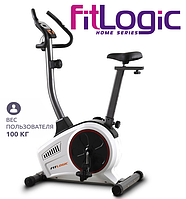Домашній велотренажер FitLogic B1501,Механічна,130,Вага маховика 8 кг, Домашнє, 26, BA100, 12, Нове,, фото 1