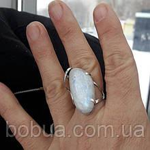 "Кольцо ""Натуральный лунный камень - адуляр"""
