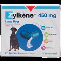 ЗИЛКЕНЕ ZYLKENE 450 мг, успокоительное и антистрессовое средство для собак и кошек, 10 таблетки