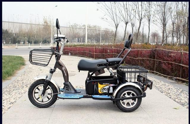 скутер трехколесный для инвалидов