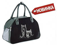 Сумка-переноска для котов и собак Природа МАЛЬТА 38х25х20