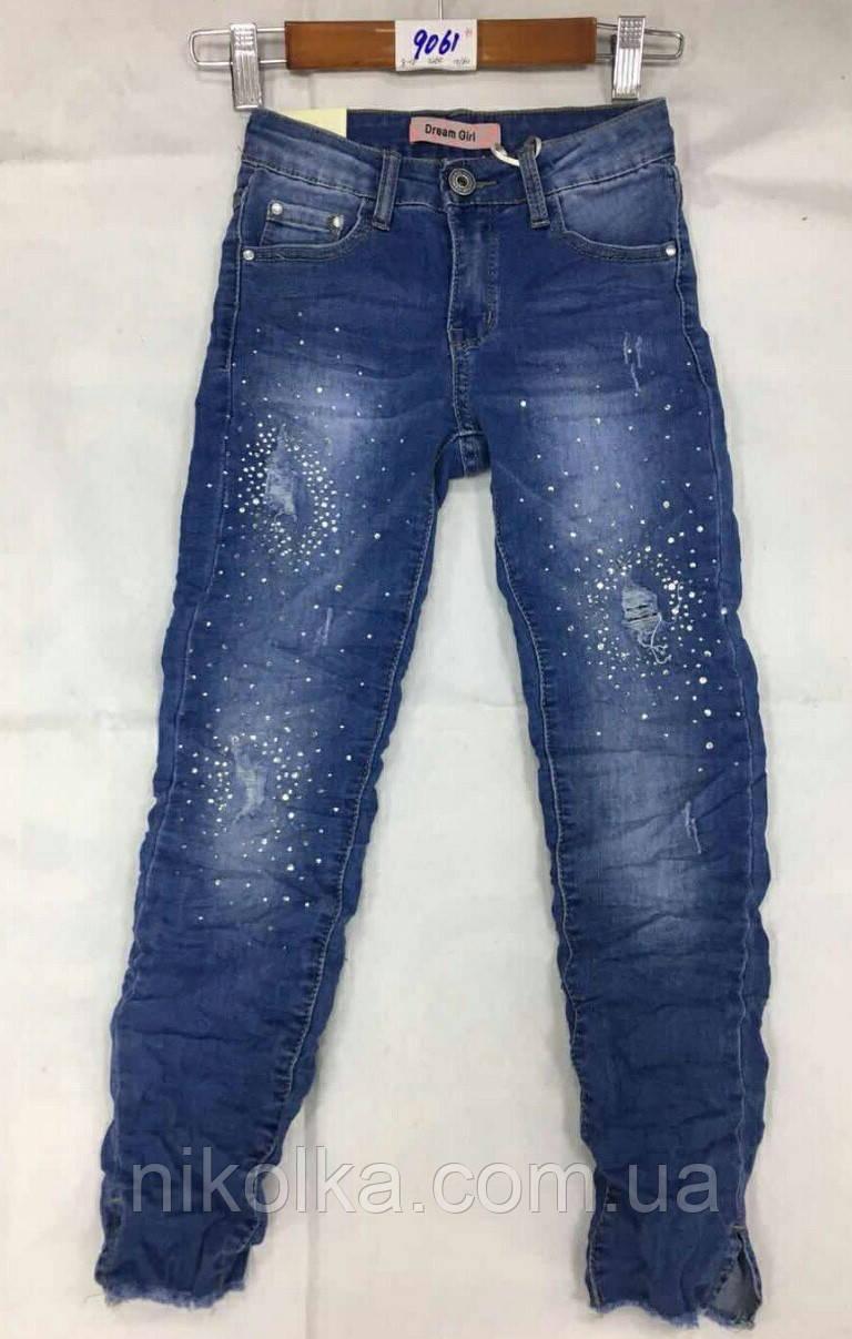Джинсовые брюки для девочек оптом,Dream Girl, 8-16 лет., Арт. 9061