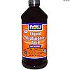 Гиалуроновая кислота жидкая 473 мл восстановление хрящевой ткани, смазка для суставов Now Foods USA