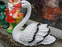 Фигурка садовая Лебедь большой 40 см.