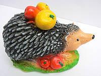 Фигурка для сада Ежик с фруктами 14 см.