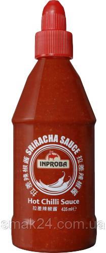 Соус острый Hot chili Sriracha (Шрирача) INPROBA Нидерланды 435мг