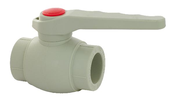 Кран шаровый ASG 40 полипропилен