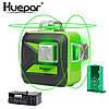 Лазерный уровень Huepar 3D green HP-603CG