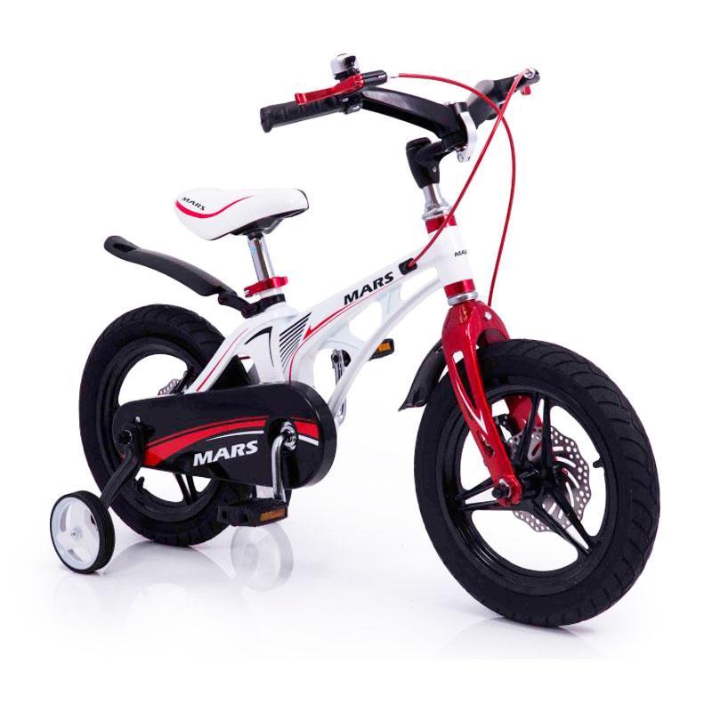"""Детский  Велосипед """"MARS-14"""" Дюймов White от 4 лет Складной Руль"""