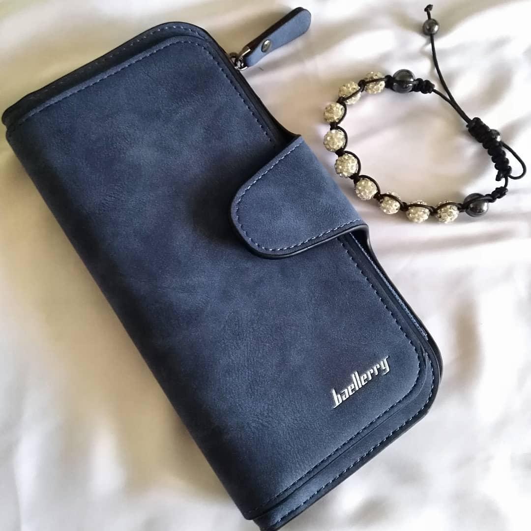0846ef4ac81e Кошелек клатч портмоне Baellerry Forever Тёмно синий: продажа, цена ...