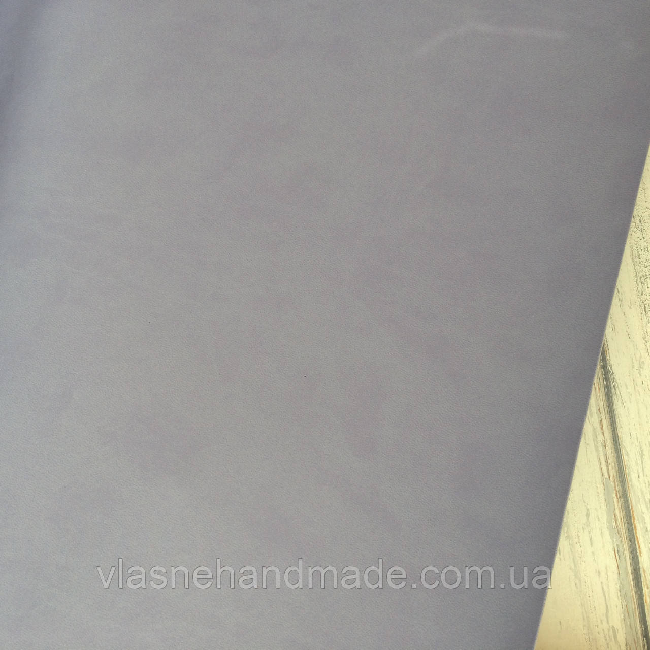 НЕФОРМАТ АБО НЕВЕЛИКИЙ БРАК!! Шкірзамінник палітурний - фіолетово-бузковий - 25х35 см