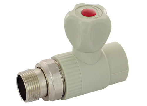 Кран радиаторный прямой ASG 20 без резинки