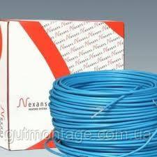 Теплый пол электро. Двухжильный кабель TXLP/2R 300/17. Nexans Норвегия