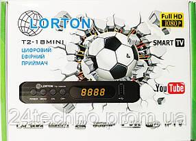 Цифровый ресивер LORTON T2-19 MINI (12v)ГАРАНТИЯ 12мес..