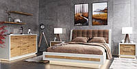 Спальня 7 Прайм Мебус дуб/белый, фото 1