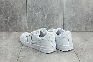 Мужские демисезонные кроссовки Nike Air Force белые топ реплика, фото 3