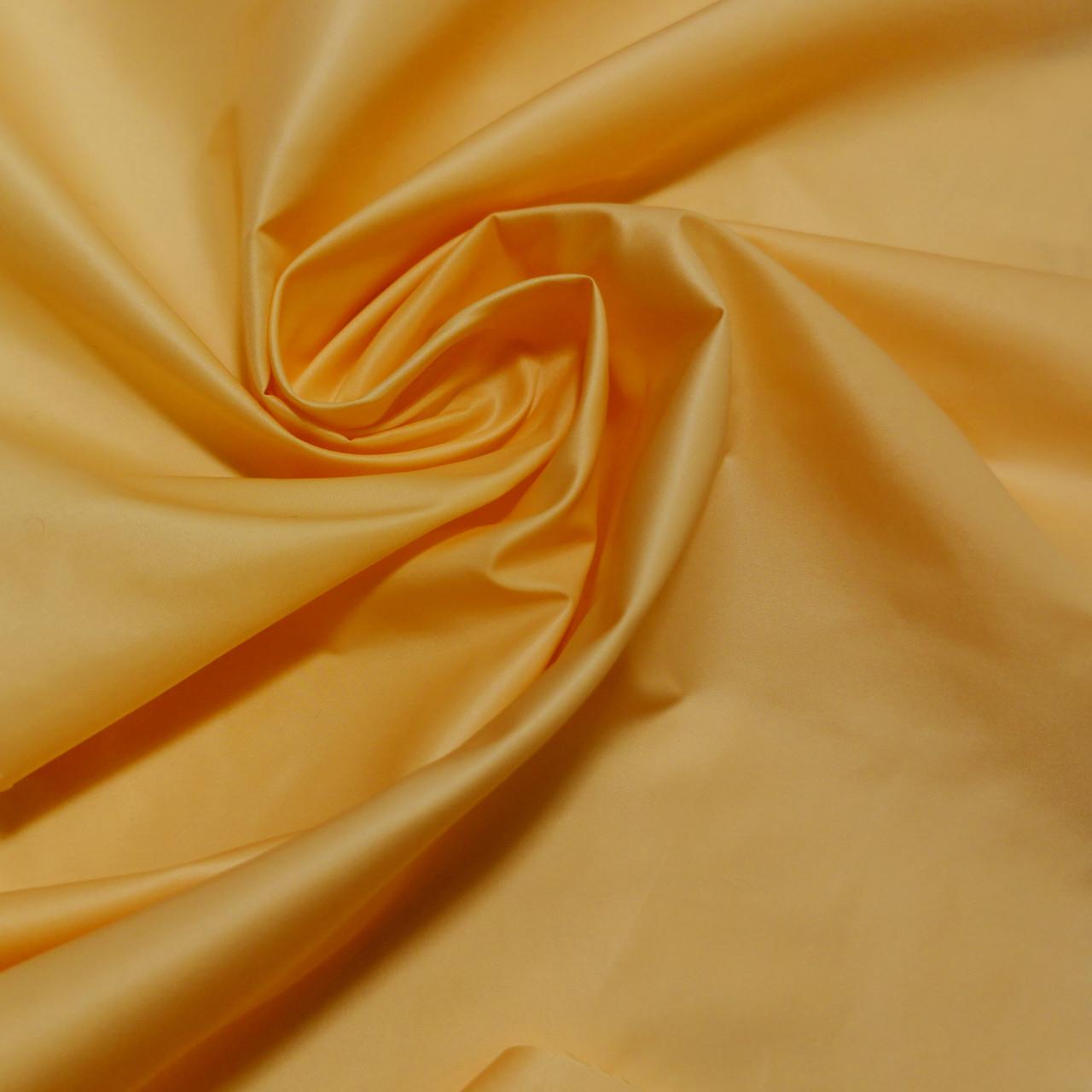 Плащевая ткань лаке горчичная