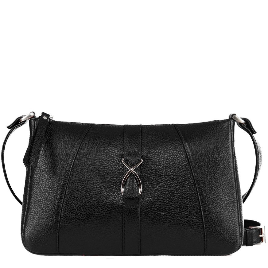 ce779069e954a Женская черная кожаная сумка Issa Hara «ACTIVE WOMЕN» АНИТА (11-00 ...