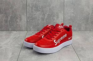 Мужские демисезонные кроссовки Nike Air Max 98 x Supreme красные топ реплика, фото 3