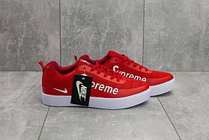 Мужские демисезонные кроссовки Nike Air Max 98 x Supreme красные топ реплика, фото 2