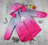 Куртка детская для девочки подростковая Q2-1602, фото 1
