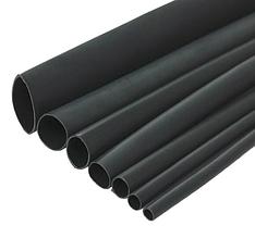 Термозбіжна трубка з клейовим шаром 3: 1 HST-AL-3-1 75/25, чорний, фото 2