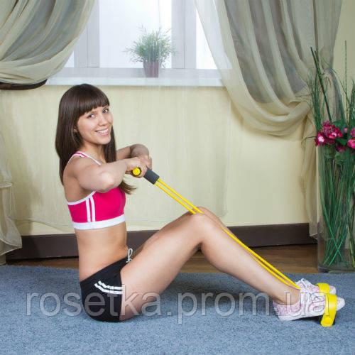 Тренажер для тела с эспандерами Фитнес-Тренер