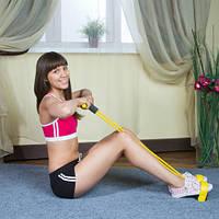 Тренажер для тела с эспандерами Фитнес-Тренер , фото 1
