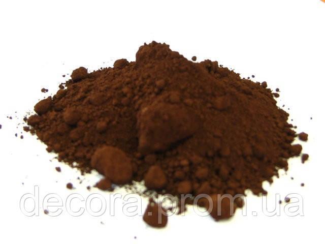 Пигмент красящий железоокисный для гипса и бетона КОРИЧНЕВЫЙ