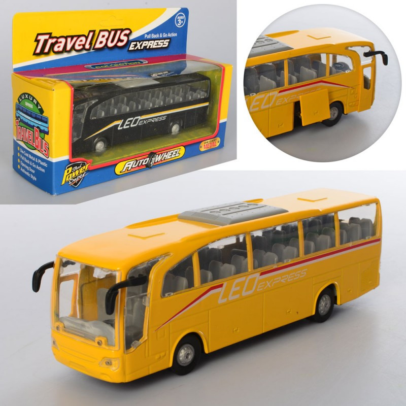 Автобус метал, інер-й, 18см