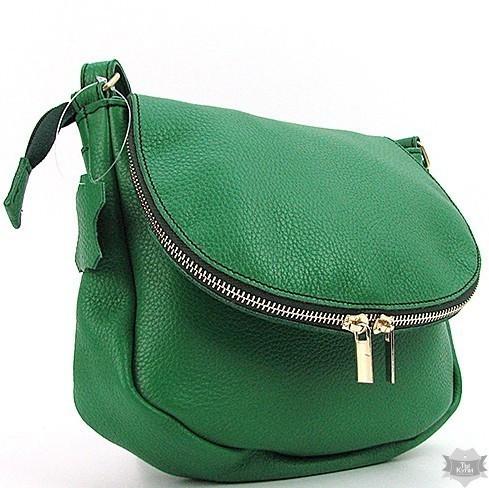 ef87c2b17325 Женская кожаная зеленая сумка ручной работы Viladi vi-046 gre - Arion-store  -