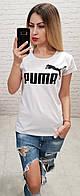Женская футболка Puma Турция р. S,M,L оптом